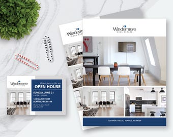"""Real Estate Flyer and Postcard Templates 