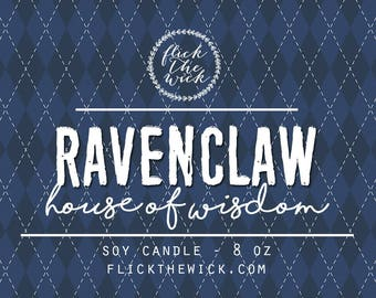 House of Wisdom (Ravenclaw) - 8oz Soy Candle