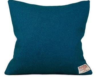 Harris Tweed Cushion| Rich Blue| Tweed Cushion| Cushions| Scatter Cushion pillow| 39cm x 39cm| 49 x 49cm| 100% wool cushion
