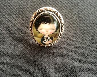 Anello handmade regolabile - Adjustable handmade ring