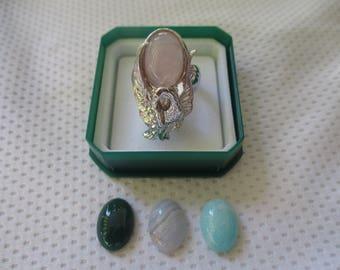 anello cigno argento 925 - sterling silver 925 ring (swan)