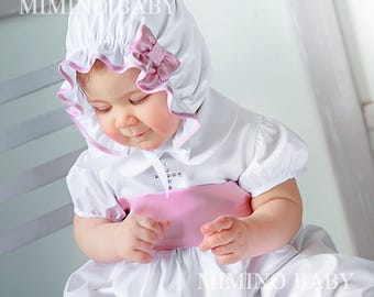 Maya Christening Gown, Baptism Gown, Christening Dress, Baptism Dress