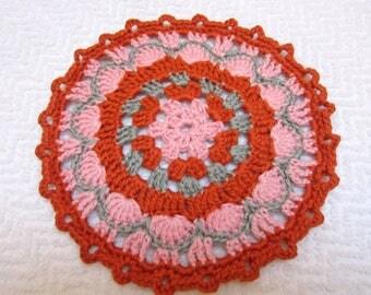 Crochet doily or trivet