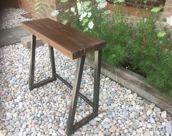 Reclaimed  console table  desk