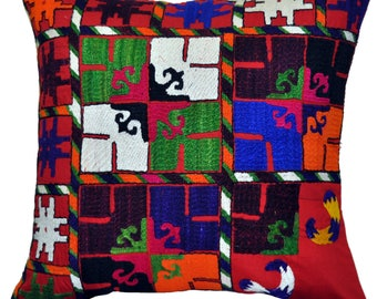 Suzani pillow case,embroidery suzani pillow,decorative pillow,throw pillow,traditional pillow