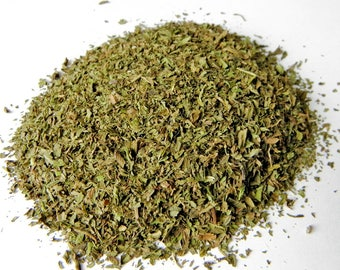 Organic Dried Peppermint, dried peppermint leaf, dried mint, dried herbs, organic herbs