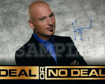 howie mandel signed 8x10 autograph rp great gift idea ready to frame photo picture