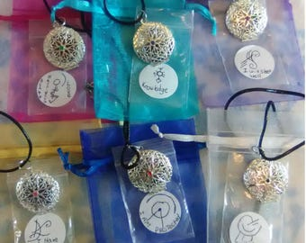 Blessing/Spell/Charm lockets necklace