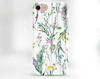 Floral phone case white flower iphone 7 plus case floral case iphone 6 plus case floral iphone 7 case iphone 6s case floral SE gift for mom