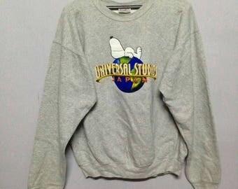 Vintage 80s Universal Studios Japan sweatshirt M