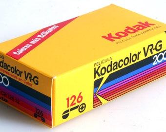 Vintage Kodak 126 Cartridge Film For Color Prints CB126-12//Expired Film//Color Film//ISO 200 Film