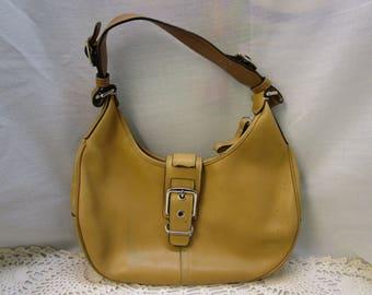 Coach Hobo Bag Vintage Coach Handbag Coach Purse M30-7548 Leather Bag Vintage Coach Hobo Bag vintage Coach Leather Bag BOHO Bag Cowhide Bag