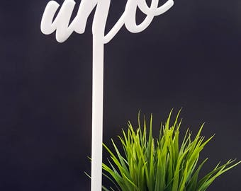 Table markers, centerpieces, wedding table number bar restaurant wedding plexiglass acrylic letters