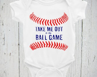 Baseball Onesie/Bodysuit, Ball Game Onesie/Bodysuit