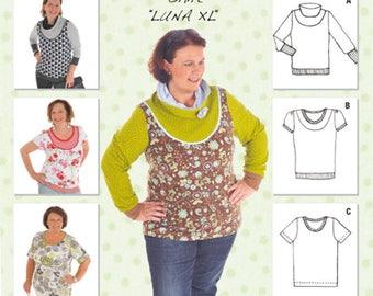 """Miou Miou-Pattern Shirt """"Luna XL"""""""