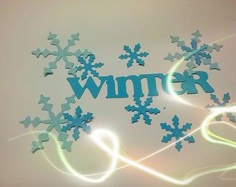 Winter Diecuts