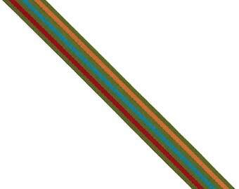 15 Yards Striped Grosgrain Ribbon