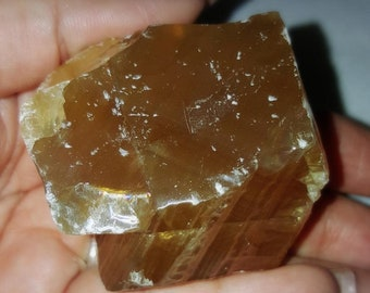 Gorgeous Raw Honey Calcite