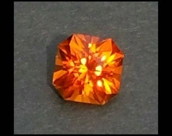 Amazing Top Color Precision Cut Madeira Citrine