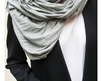 cotton jersey scarf oversized scarf