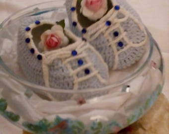 baby angel shoes,crochet, baby shoes