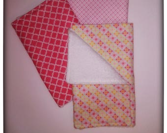 Burp cloths in Pink Patterns