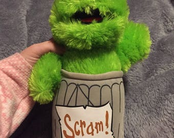 Sesame Street oscar the grouch plush
