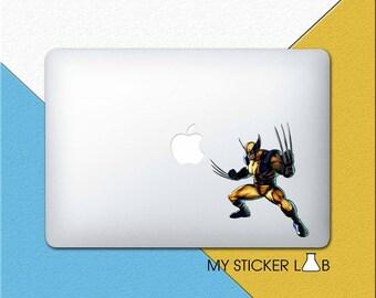 MacBook Decal Wolverine MacBook Sticker Marvel Laptop Sticker Laptop Decal MacBook Air MacBook Pro Retina X Men Wolverine Sticker bn506
