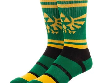 Nintendo Zelda Socks (New, Free Shipping For Additional Products, 1 Pair)