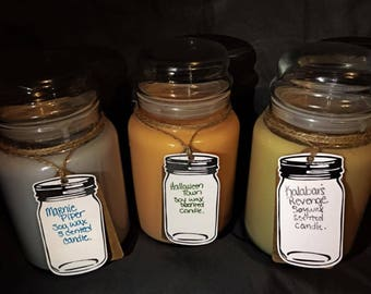 Halloween Town Scented Candles 3 Piece Set