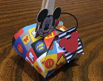 Mickey & Minnie Party Favors - Curvy Keepsake Box