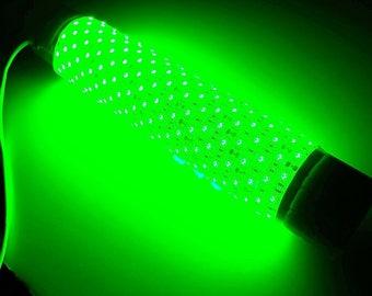 Green Blob-15000 w/ Cig. Lighter Plug Adapter Underwater Fishing Light (15000 Lumens)