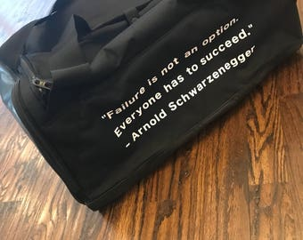 Customized Gym Bags