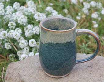 handmade pottery mug, ceramic mug, coffee mug, stoneware mug