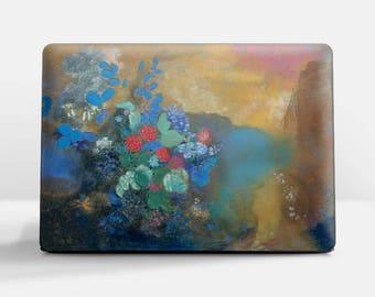"Laptop skin (Custom size). Odilon Redon, ""Ophelia Among the Flowers"". Laptop cover, HP, Lenovo, Dell, Sony, Asus, Samsung etc."