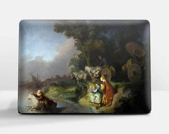 "Laptop skin (Custom size). Rembrandt, ""The Abduction of Europa"".  Laptop cover, HP, Lenovo, Dell, Sony, Asus, Samsung etc."