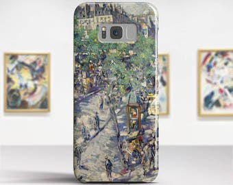 "Konstantin Korovin, ""Sevastopol Boulevard"".Samsung Galaxy S7 Case LG G6 case Huawei P10 Case Galaxy J5 2017 Case and more. Art phone cases."