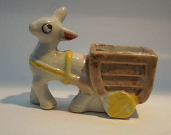 Ceramic figurine Made in Occupied Japan