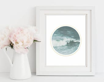Coastal Wall Art, Ocean Print, Minimalist Print, Art Prints, Coastal Decor, Beach Wall Art, Ocean Photography Wall Art, Gift For Her, Print