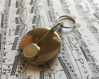 Antique Sax Key - Keychain