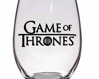 Game of Thrones GOT Horror Pint Wine Glass Tumbler Alcohol Drink Cup Barware Halloween Scary