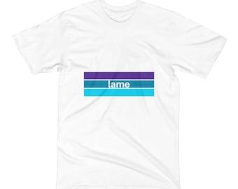 Lame Logo T-Shirt, Men's T-Shirt, Women's T-Shirt, Retro Tee, Indie T-Shirt, Funny T-Shirt, Tumblr T-Shirt, Indie Graphic Tees, Skate Tee