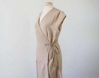 The Tibetan. Wrap dress 100% cotton.