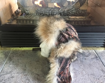 Fur Trapper hats, Ushanka and Russian Hats made of Coyote. A winter hat above the rest