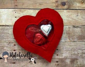 Heart Candy Holder