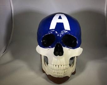 Captain America Skull