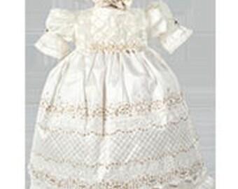 Vintage Girl Christening Gown MX988