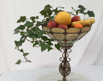 Tiffany style Lamp display stand or candle holder #1