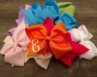 Wholesale Bows, Cheer Bows, Oversized Bows, Monogram Bows