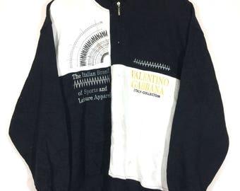 Off 10%!! Vintage Valentino Gabbana Embroidered Sweatshirt